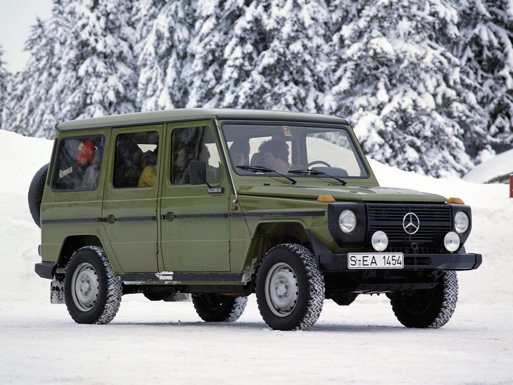 Mercedes-Benz G-klasse I (W460; W461) 1979 - 2001 SUV #4