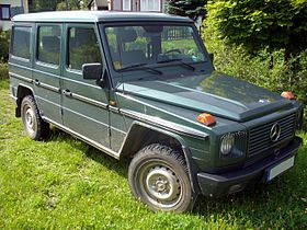 Mercedes-Benz G-klasse I (W460; W461) 1979 - 2001 SUV #8