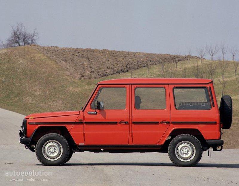Mercedes-Benz G-klasse I (W460; W461) 1979 - 2001 SUV #5