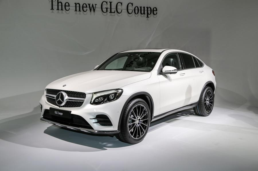 Mercedes-Benz GLC Coupe AMG C253 2016 - now SUV 5 door #1