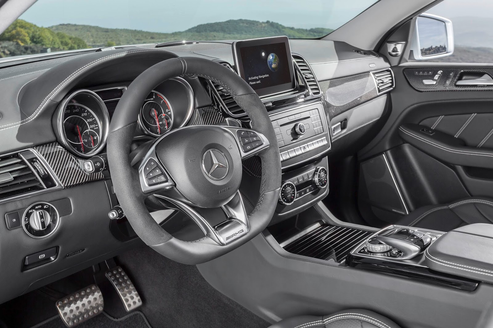 Mercedes-Benz GLE Coupe AMG C292 2015 - now SUV 5 door #5