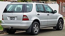 Mercedes-Benz M-klasse I (W163) 1997 - 2001 SUV 5 door #8
