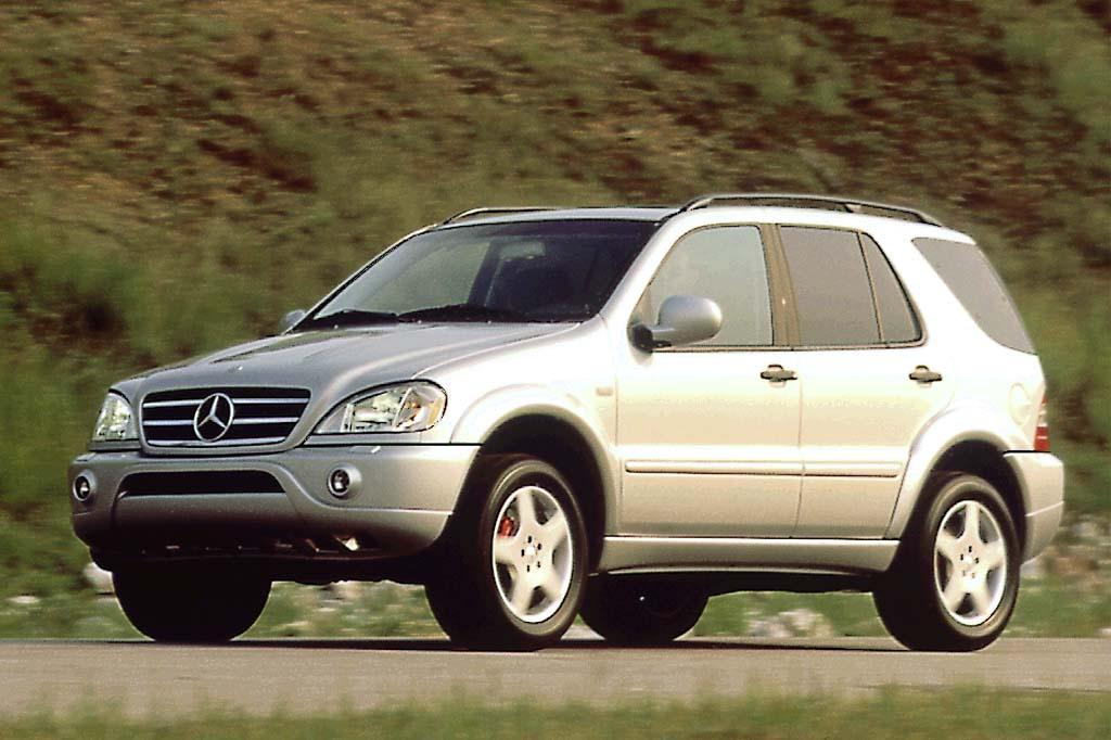 Mercedes-Benz M-klasse I (W163) Restyling 2001 - 2005 SUV 5 door #4