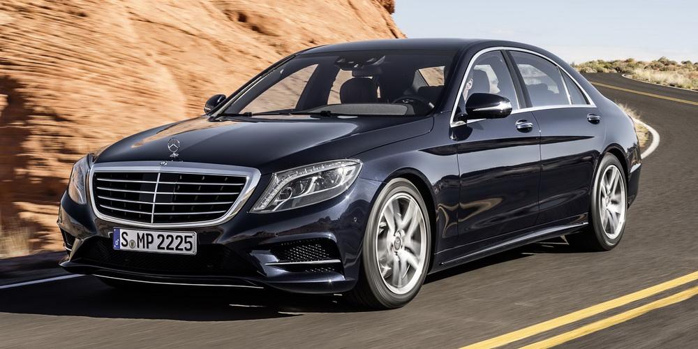 Mercedes-Benz S-klasse AMG III (W222, C217) Restyling 2017 - now Sedan #1