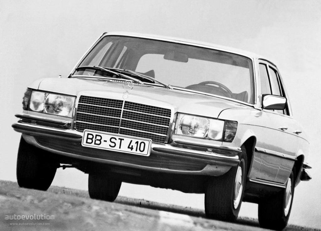 Mercedes-Benz S-klasse I (W116) 1972 - 1980 Sedan #4