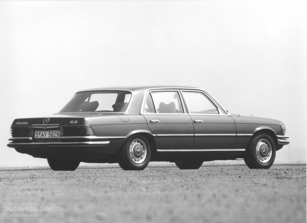 Mercedes-Benz S-klasse I (W116) 1972 - 1980 Sedan #3
