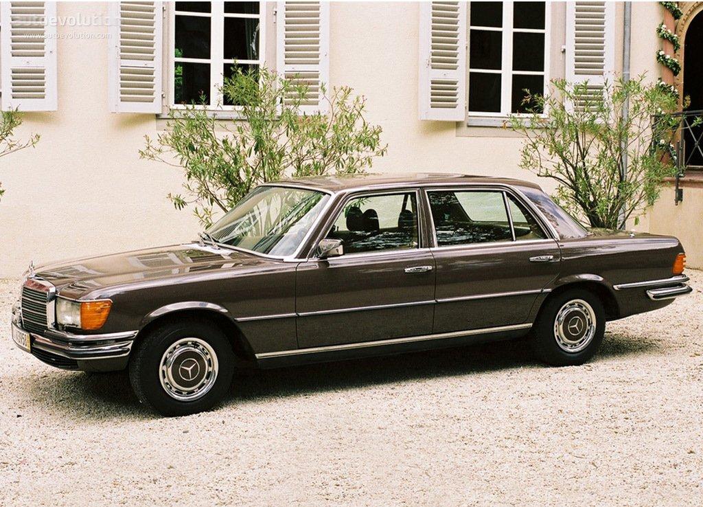 Mercedes-Benz S-klasse I (W116) 1972 - 1980 Sedan #8