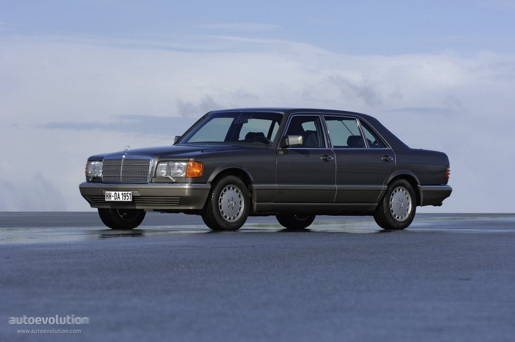 Mercedes-Benz S-klasse II (W126) 1979 - 1985 Coupe #1