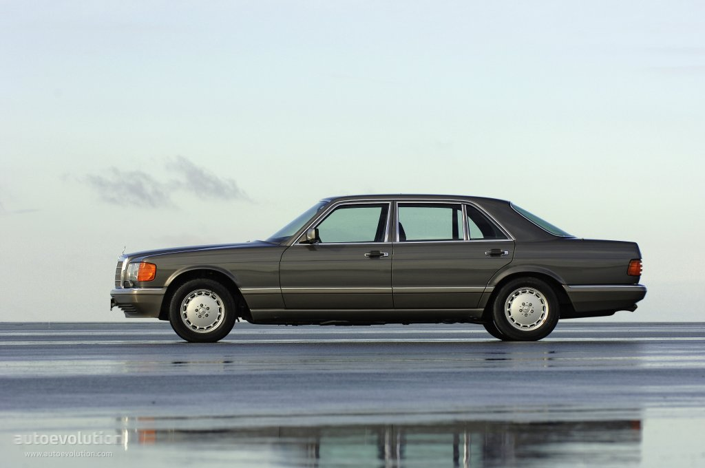 Mercedes-Benz S-klasse II (W126) 1979 - 1985 Coupe #4
