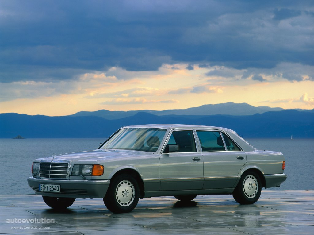 Mercedes-Benz S-klasse II (W126) 1979 - 1985 Coupe #7