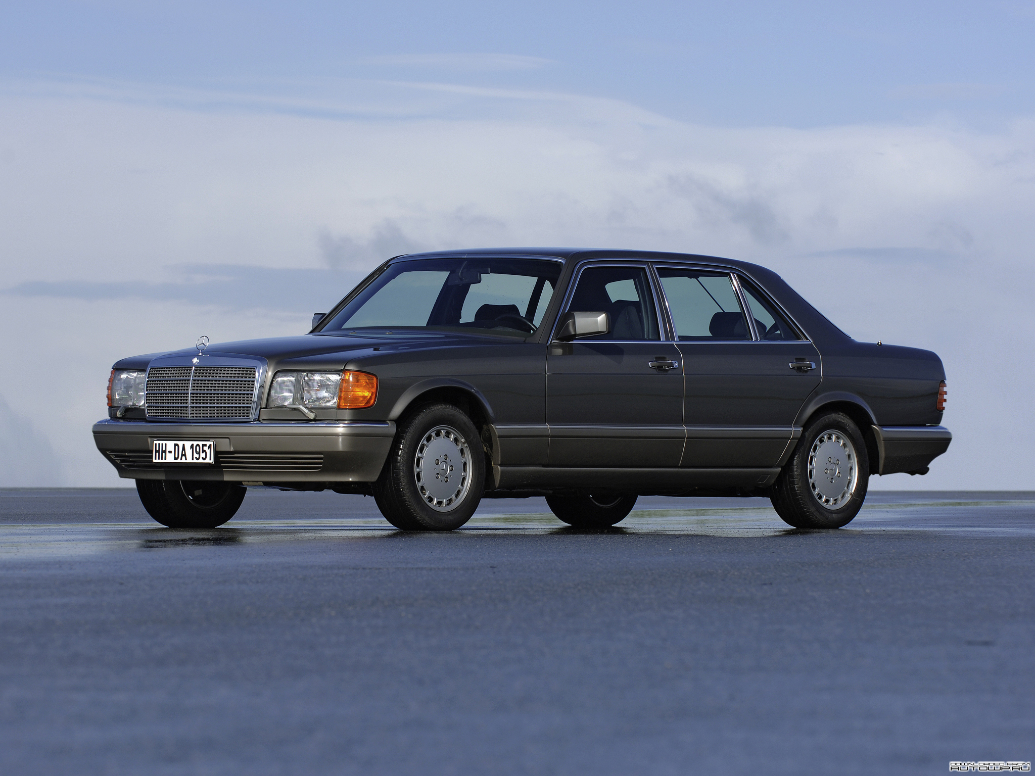 Mercedes-Benz S-klasse II (W126) 1979 - 1985 Coupe #5