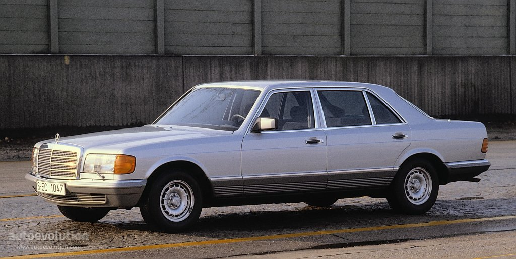 Mercedes-Benz S-klasse II (W126) 1979 - 1985 Coupe #6
