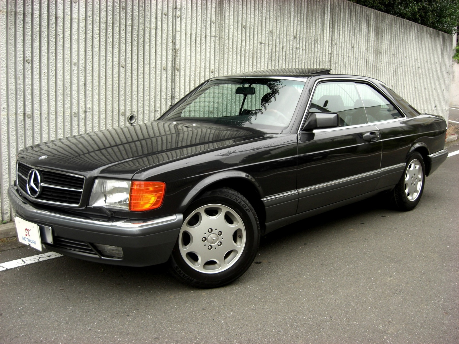 Mercedes-Benz S-klasse II (W126) Restyling 1985 - 1991 Coupe #3