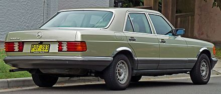 Mercedes-Benz S-klasse II (W126) Restyling 1985 - 1991 Coupe #2