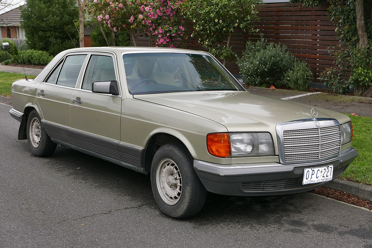 Mercedes-Benz S-klasse II (W126) Restyling 1985 - 1991 Coupe #4