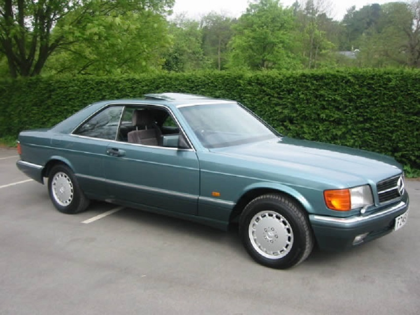 Mercedes-Benz S-klasse II (W126) Restyling 1985 - 1991 Coupe #6