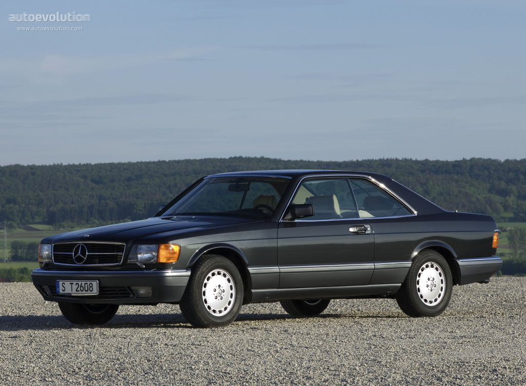 Mercedes-Benz S-klasse II (W126) Restyling 1985 - 1991 Coupe #5