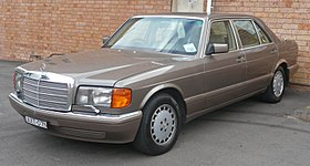 Mercedes-Benz S-klasse II (W126) Restyling 1985 - 1991 Coupe #8
