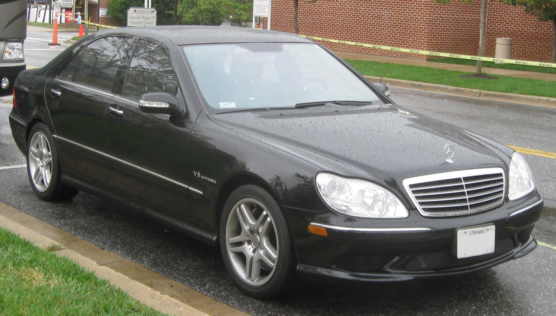 Mercedes-Benz S-klasse AMG I (W220) 1999 - 2002 Sedan #5