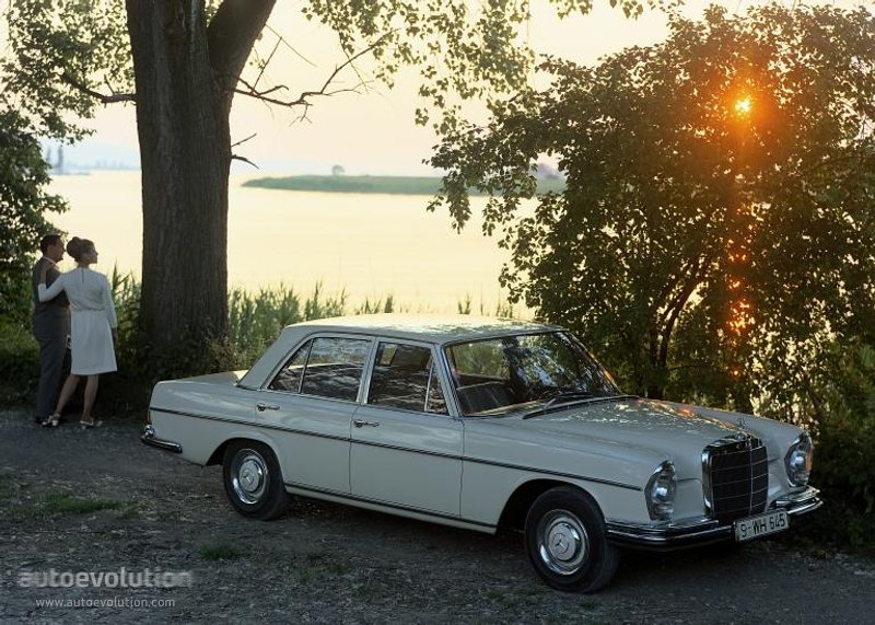 Mercedes-Benz S-klasse W108 1965 - 1972 Sedan #6