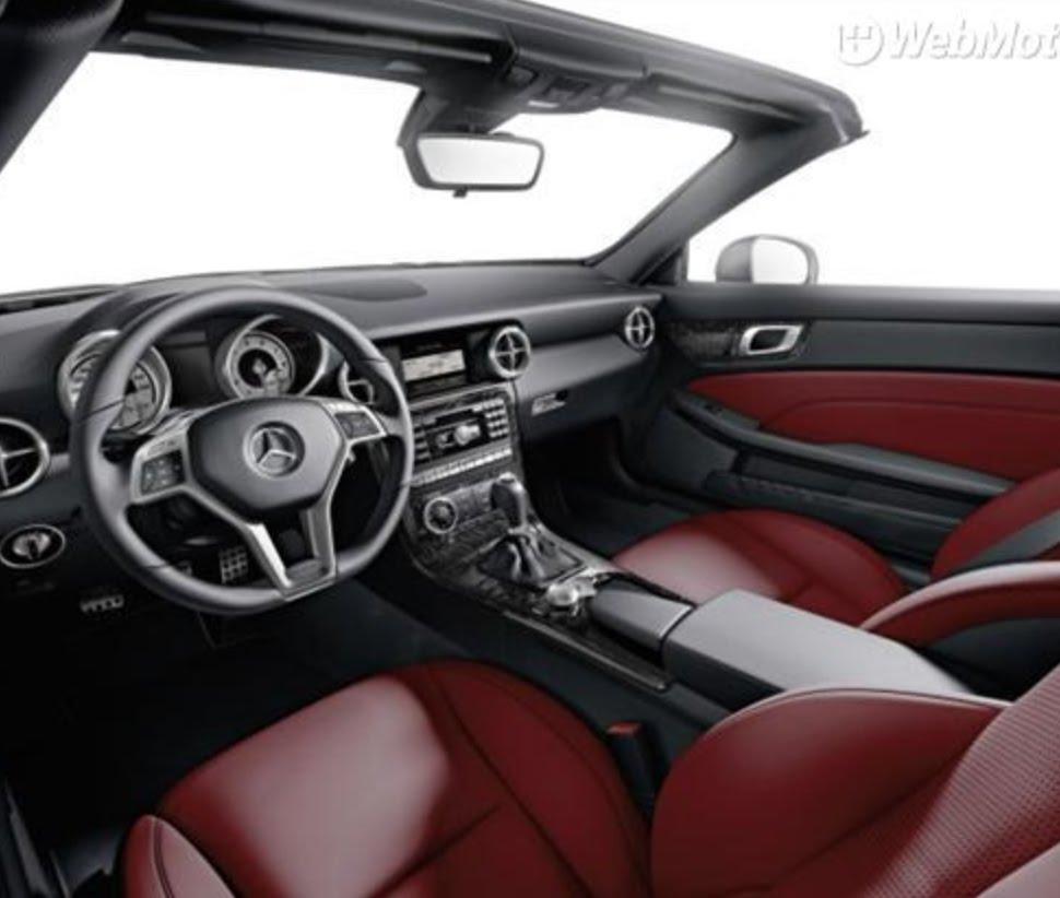 Mercedes-Benz SLC-klasse I (R172) 2016 - now Roadster #8