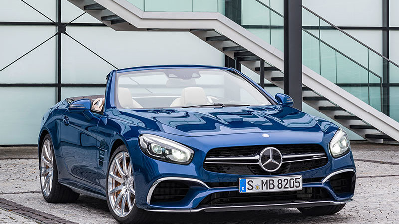 Mercedes-Benz SL-klasse AMG III (R231) Restyling 2015 - now Roadster #2