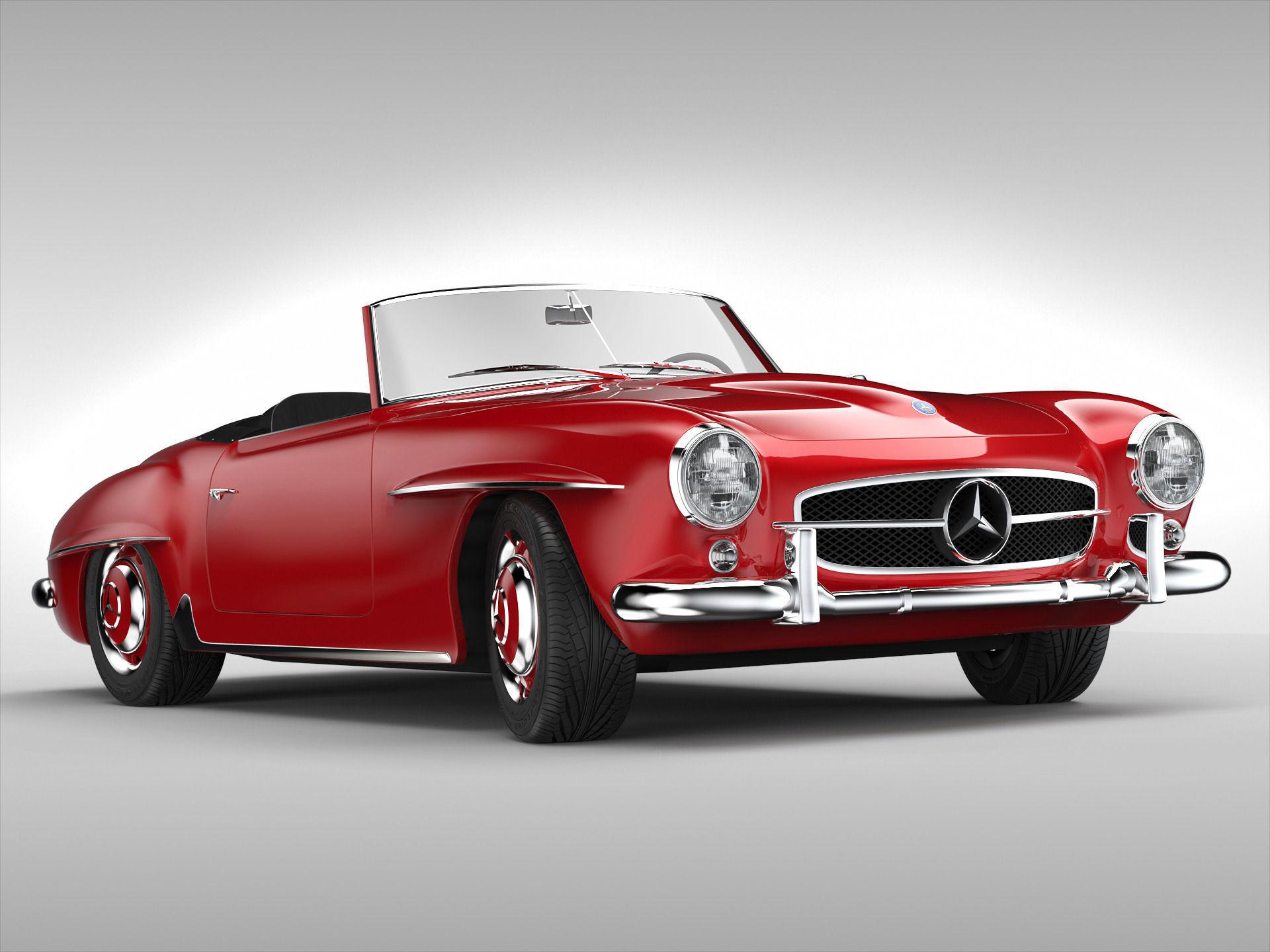 Mercedes-Benz SL-klasse I (R121) 1955 - 1963 Roadster #2
