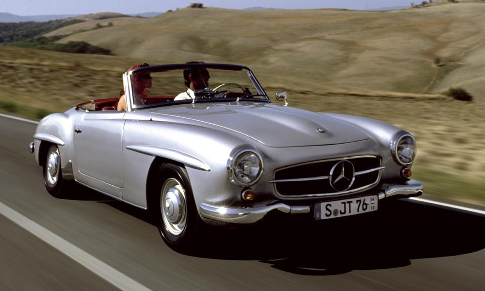 Mercedes-Benz SL-klasse I (R121) 1955 - 1963 Roadster #4