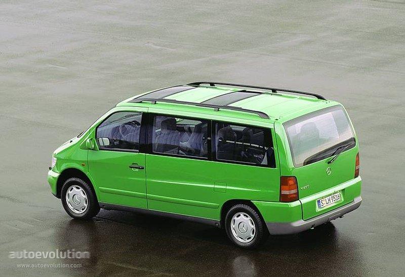 Mercedes-Benz V-klasse I (W638) 1996 - 2003 Minivan #1