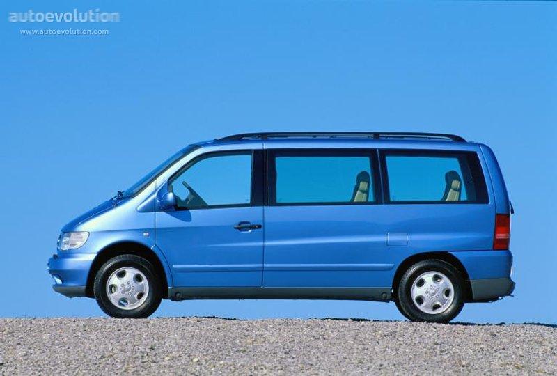 Mercedes-Benz V-klasse I (W638) 1996 - 2003 Minivan #4