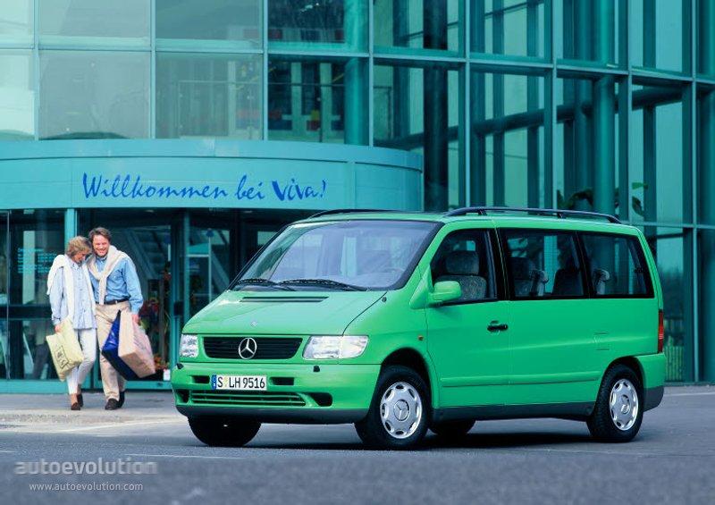 Mercedes-Benz V-klasse I (W638) 1996 - 2003 Minivan #2
