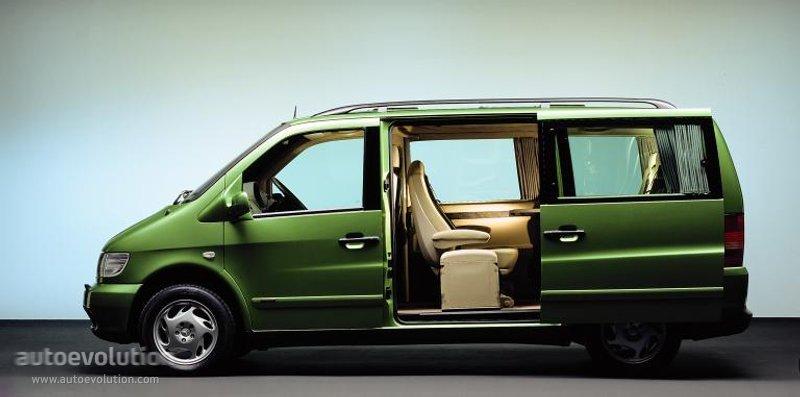 Mercedes-Benz V-klasse I (W638) 1996 - 2003 Minivan #7