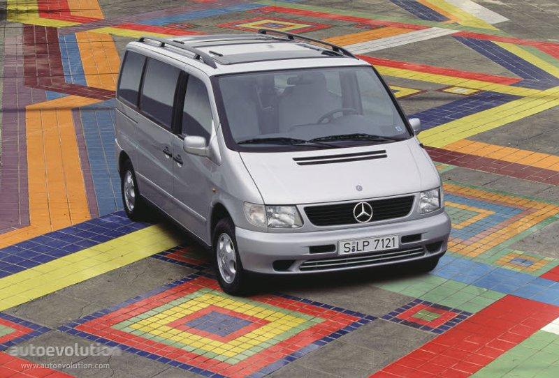 Mercedes-Benz V-klasse I (W638) 1996 - 2003 Minivan #5