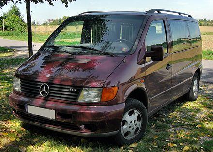 Mercedes-Benz V-klasse I (W638) 1996 - 2003 Minivan #8