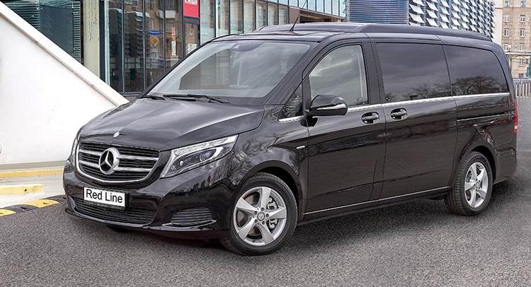 Mercedes-Benz V-klasse II 2014 - now Minivan #1