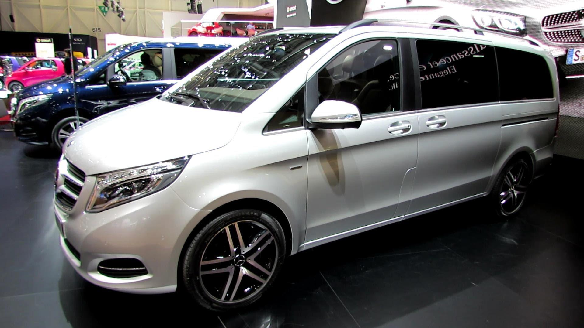 Mercedes-Benz V-klasse II 2014 - now Minivan #8