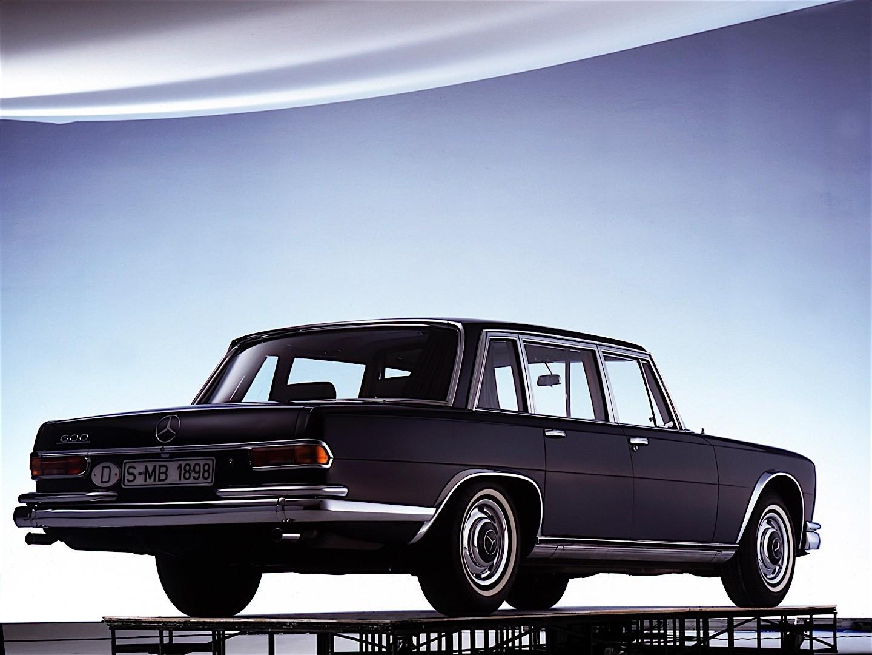 Mercedes-Benz W100 1964 - 1981 Sedan #4