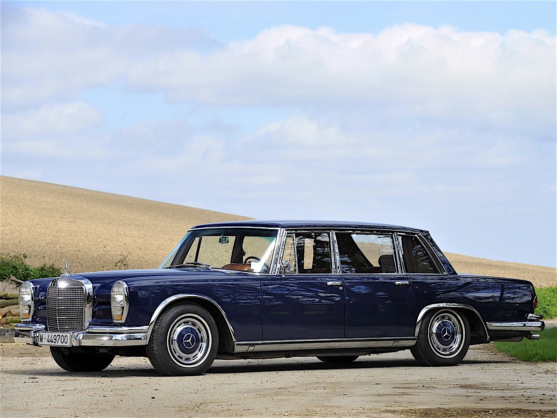 Mercedes-Benz W100 1964 - 1981 Sedan #5