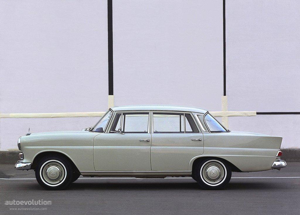 Mercedes-Benz W110 First Series 1961 - 1965 Sedan #2