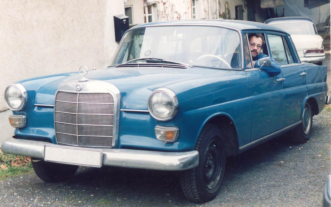 Mercedes-Benz W110 First Series 1961 - 1965 Sedan #6