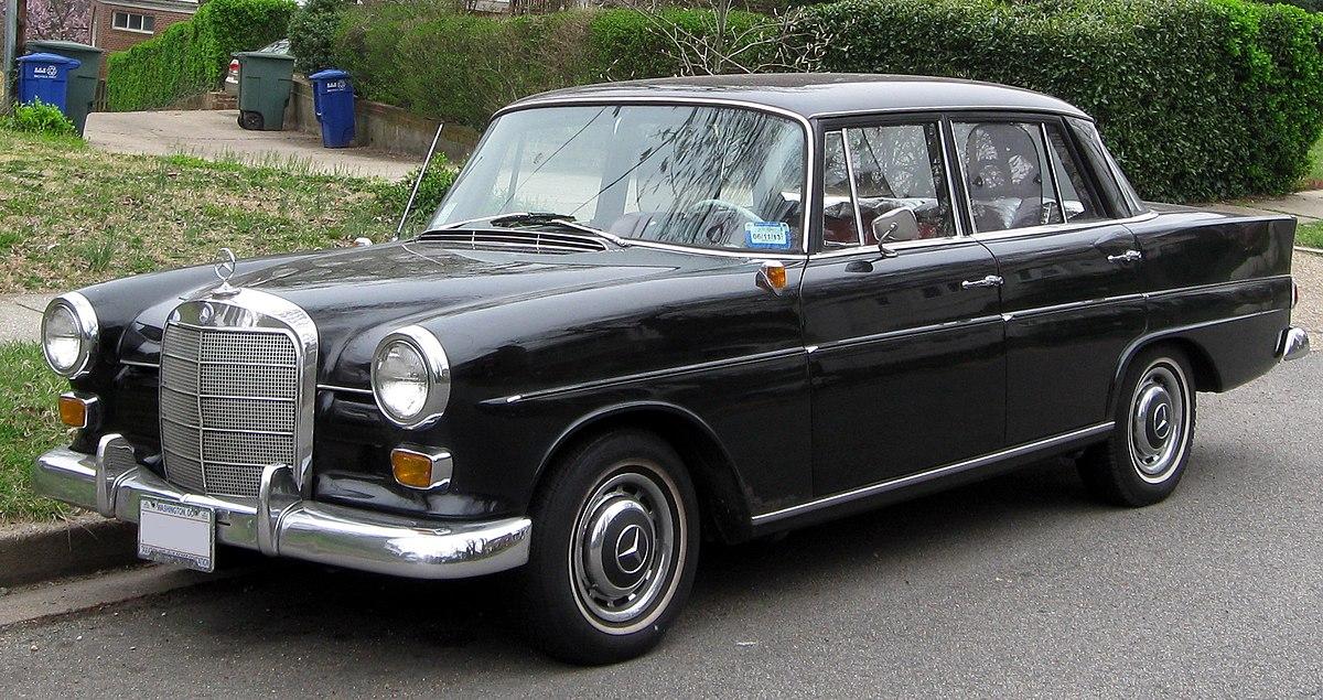 Mercedes-Benz W110 First Series 1961 - 1965 Sedan #7