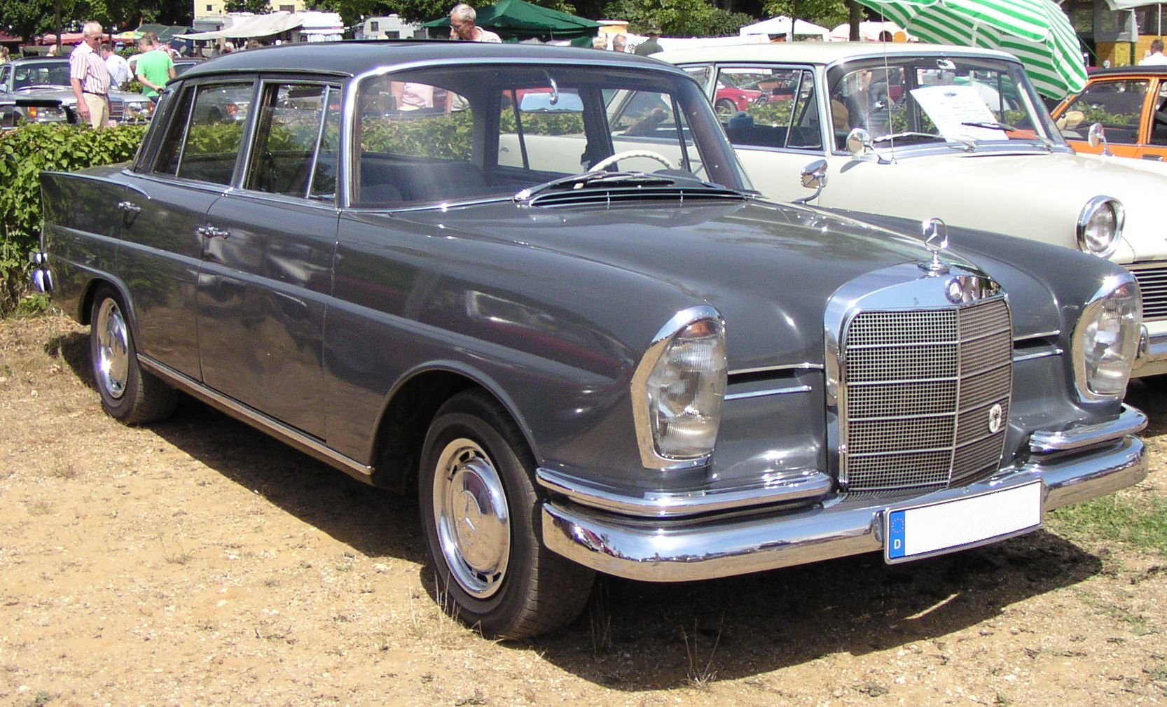 Mercedes-Benz W111 1959 - 1971 Coupe #2