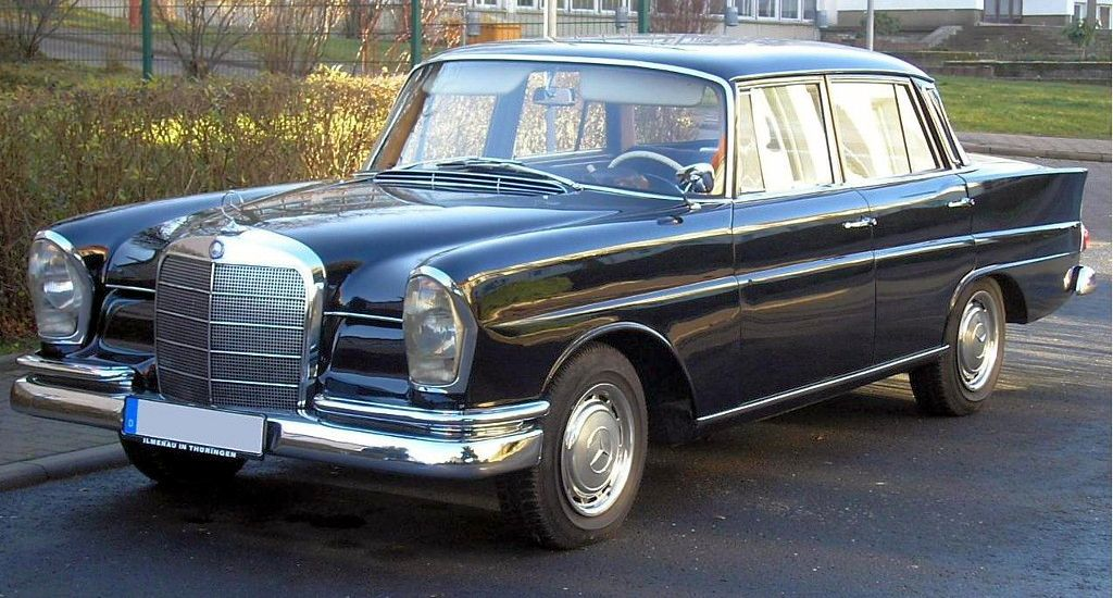 Mercedes-Benz W111 1959 - 1971 Coupe #8