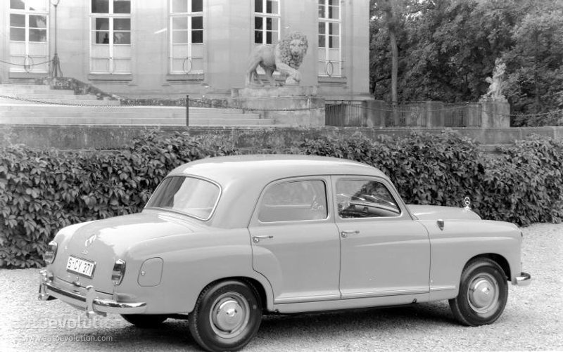 Mercedes-Benz W120 1953 - 1962 Sedan #2