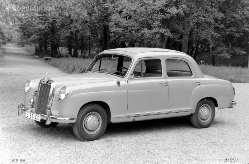 Mercedes-Benz W120 1953 - 1962 Sedan #5
