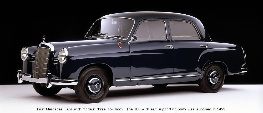Mercedes-Benz W120 1953 - 1962 Sedan #8