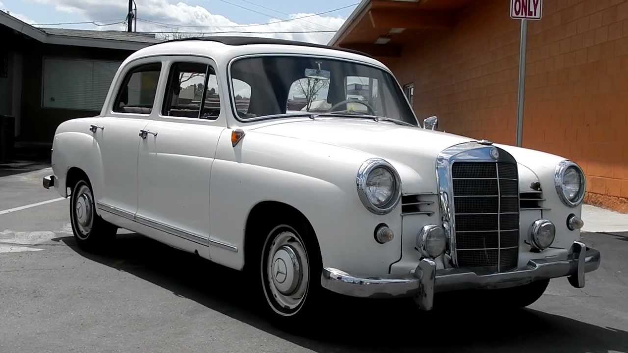 Mercedes-Benz W120 1953 - 1962 Sedan #1