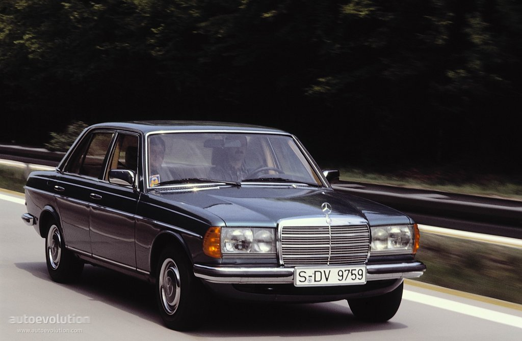 Mercedes-Benz W123 1975 - 1985 Coupe #7