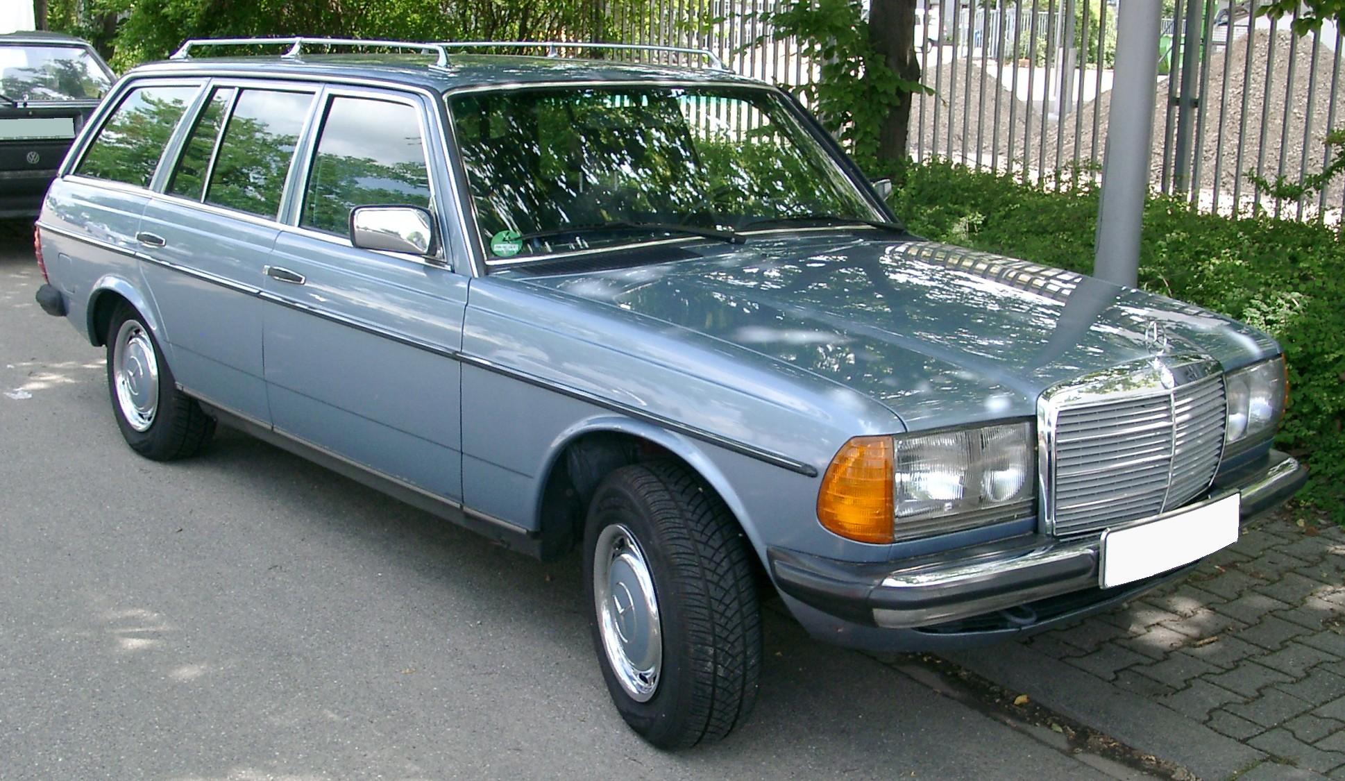 Mercedes Benz W123 1975 1985 Station Wagon 5 Door Outstanding Cars