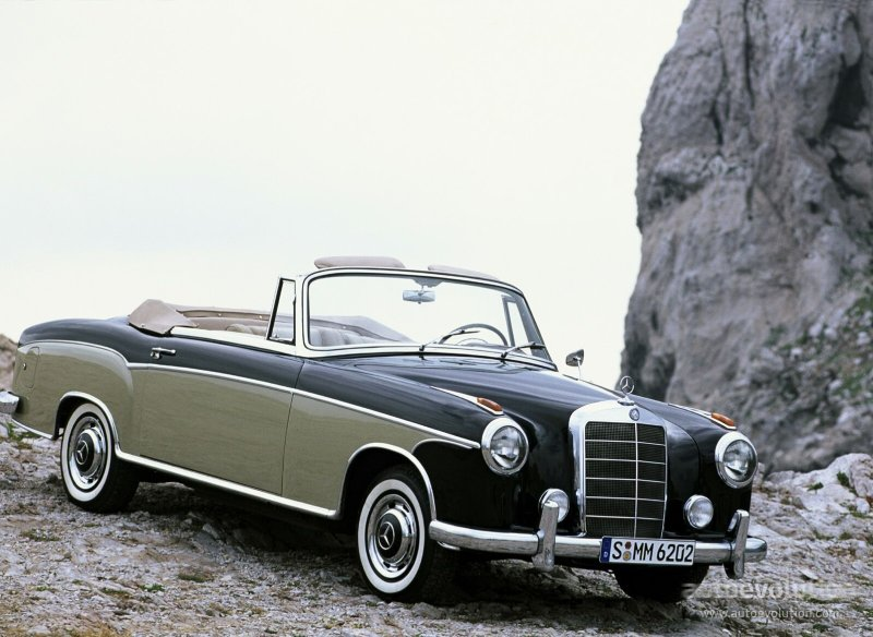 Mercedes-Benz W128 1958 - 1960 Coupe #1